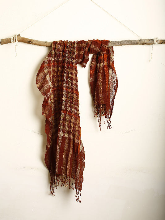 The Frill and Checks scarf