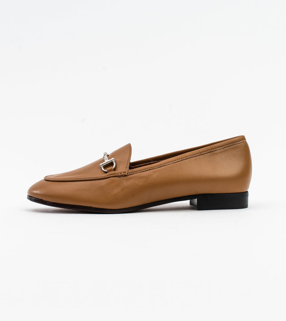Jessica camel leather vegan snaffle loafer Loafer Allkind Vegan