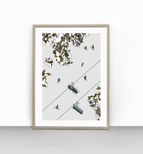 Load image into Gallery viewer, 8. Kosciuszko Express Chairlift - Thredbo (unframed)