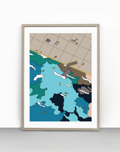 Load image into Gallery viewer, 3. Clovelly 'slab' (unframed)