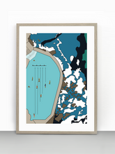 Load image into Gallery viewer, 2. Bronte Baths (unframed)