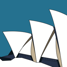 Load image into Gallery viewer, Opera House Side Elevation (unframed)