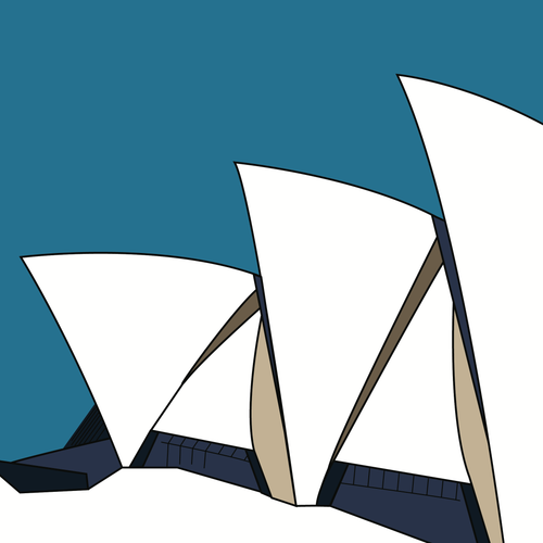 Opera House Side Elevation (unframed)