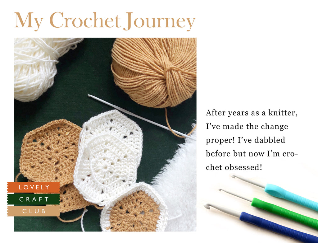 My crochet journey