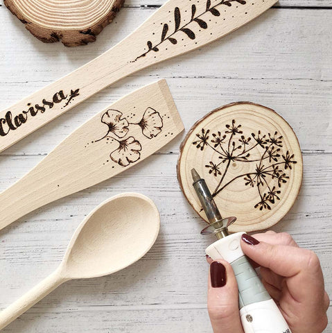 Try Pyrography - Botanical Inspired Wood Burning Workshop