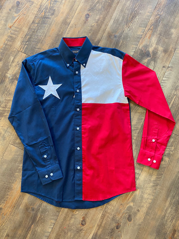 Texas Flag Long Sleeve