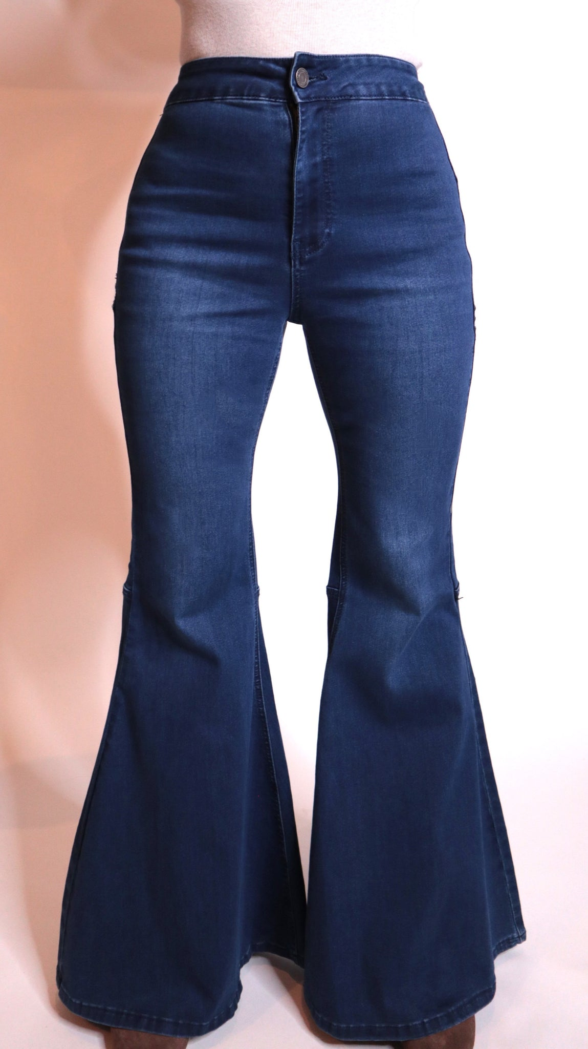 High Rise Super Flare Jeans