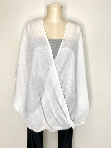 Comfy All Day Surplice Blouse