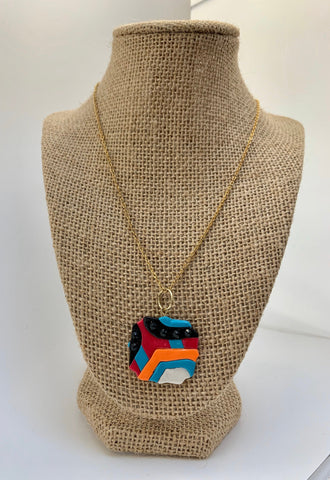 Colorful Groovy Necklace