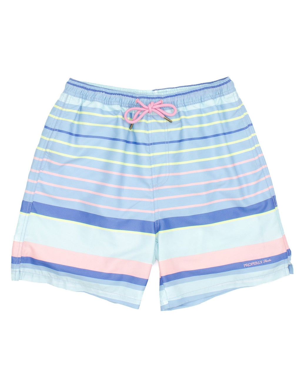 Santa Monica Stripe Swim Trunk