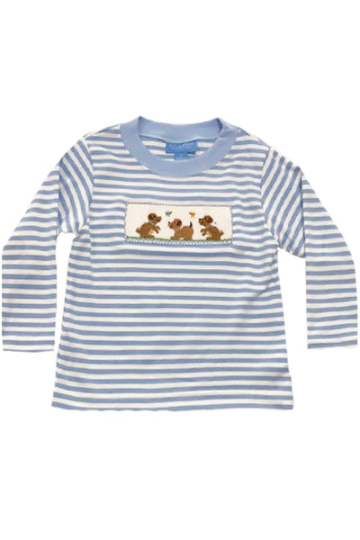 Puppy Love Smocked Shirt
