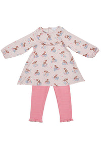 Woodland Deer Dress Set