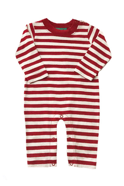 Jack Red Stripe Romper