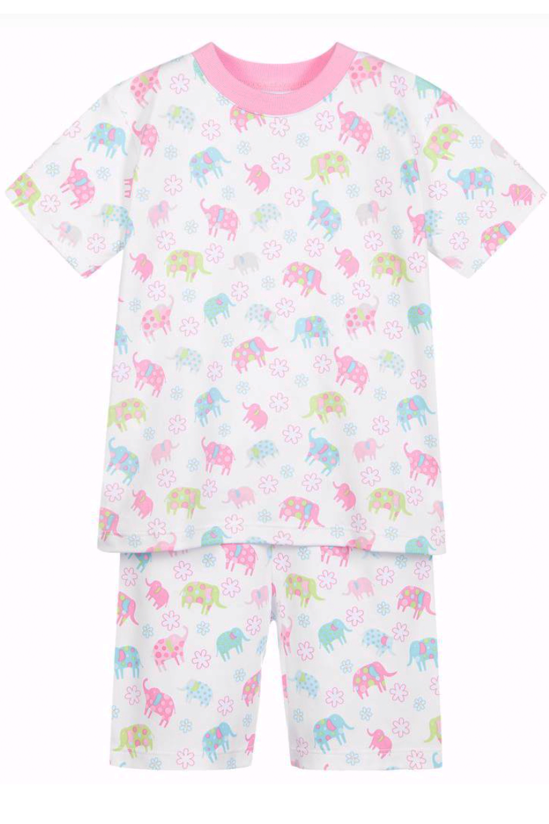 Ele Flower Snug Pajama Set