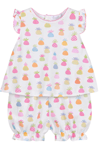 Pineapple Island Sunsuit Set