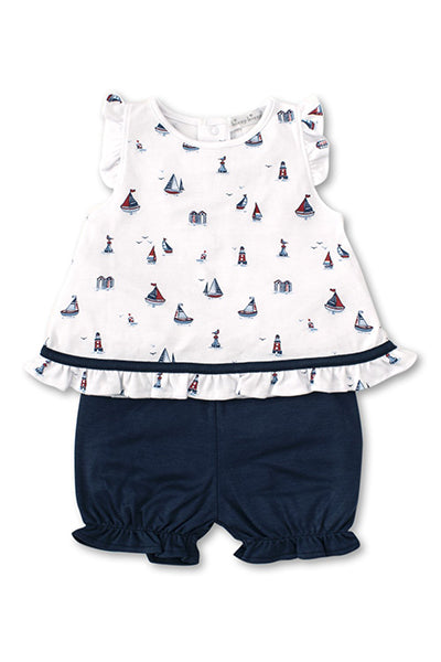 Seaside Surprise Sunsuit Set