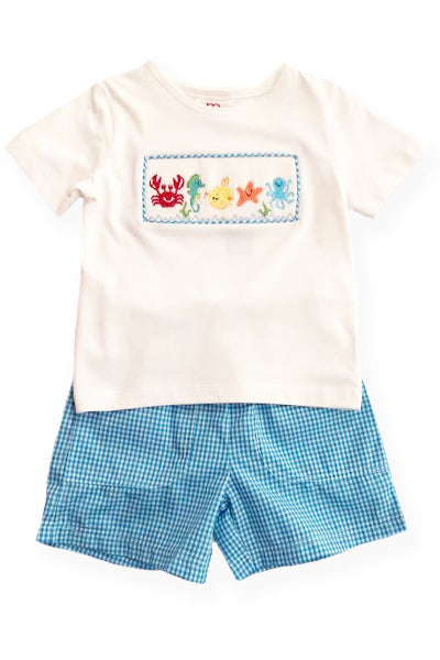 Mom & Me Sea Life Short Set