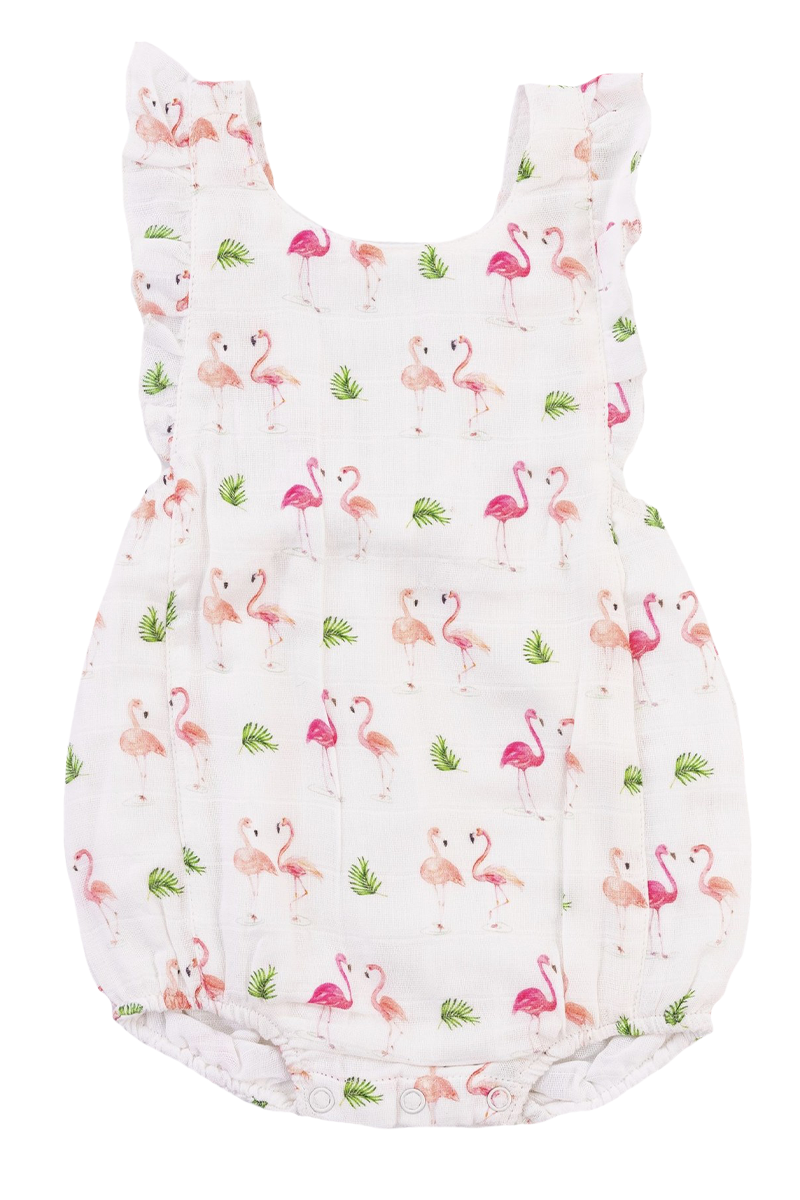 Always Look On The Pink Side of Life Sunsuit