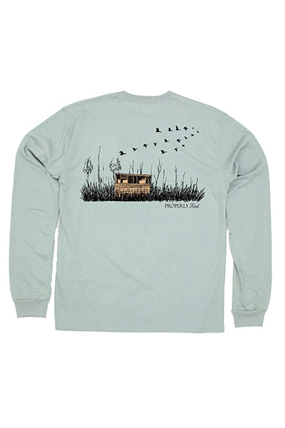Duck Blind LS Tee