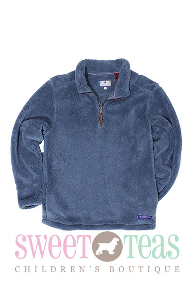 Properly Tied Stone Blue Pullover