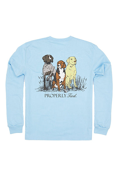 Triple Dog LS Tee
