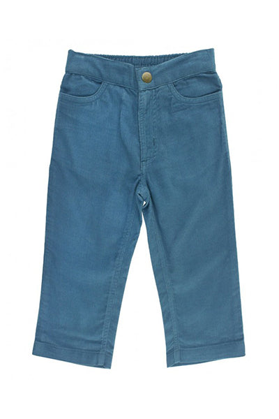 Ethereal Blue Corduroy Pants