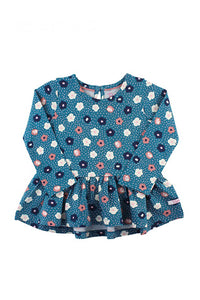Poppy Seed Peplum Top