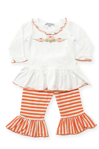 Lovely Pumpkins Knit Pant Set