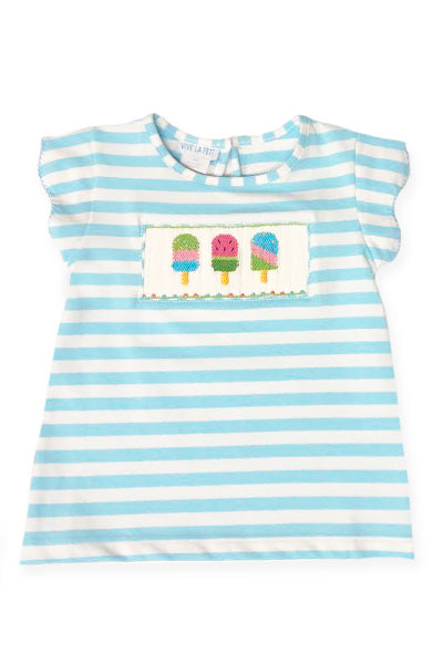 Popsicles Smocked Top
