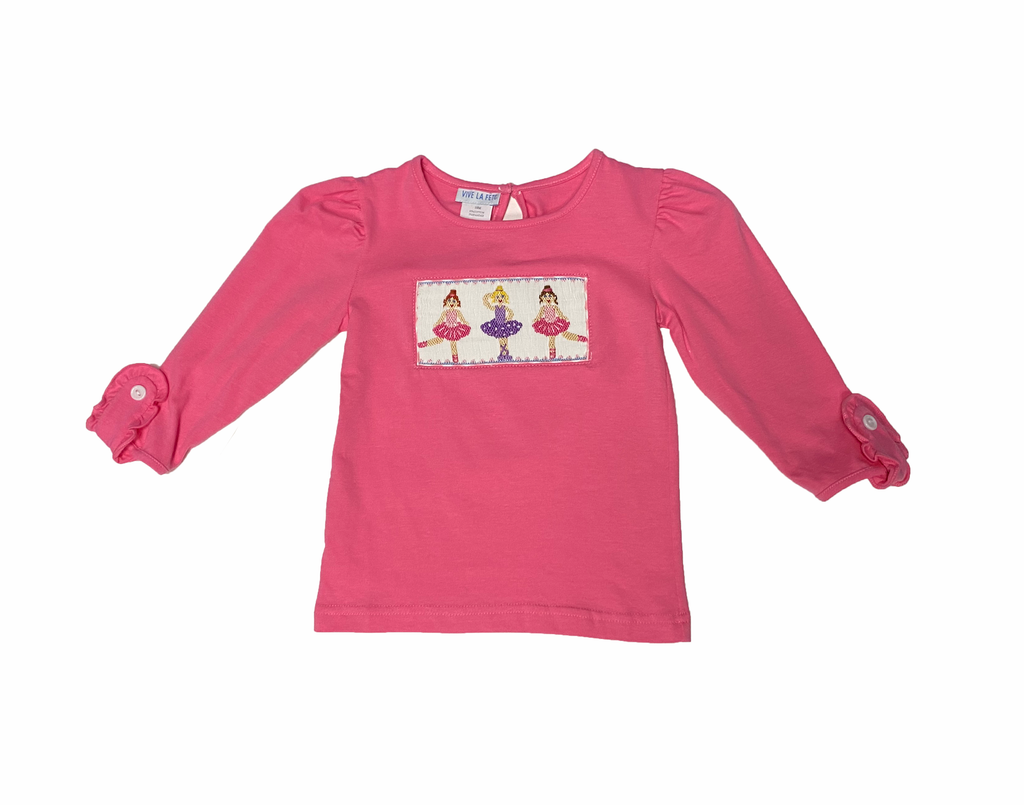 Ballerina Trio Smocked Top