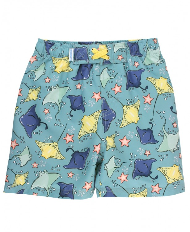Starfish & Stingrays Swim Trunks