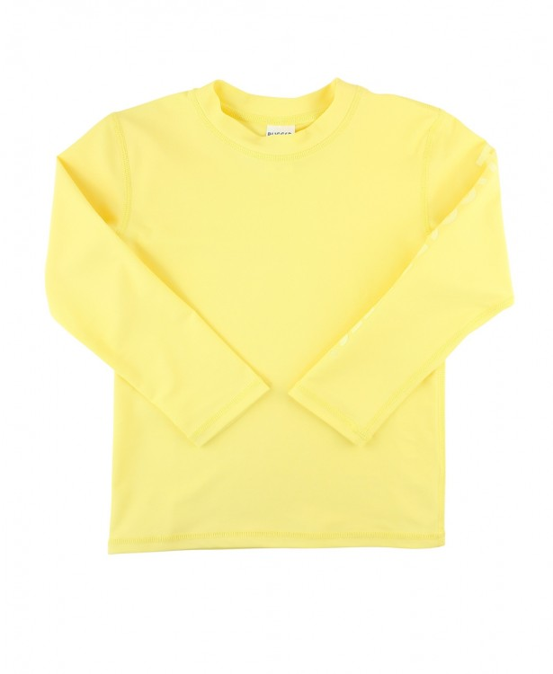 Lemon Long Sleeve Logo Rash Guard