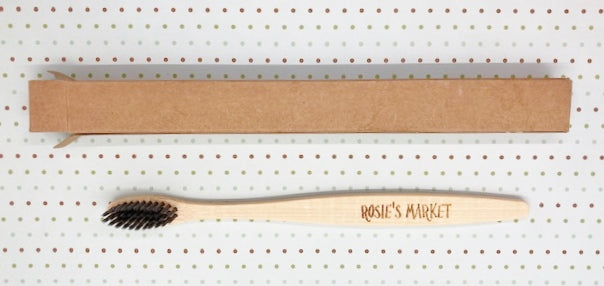 100% Biodegradable Bamboo Toothbrush