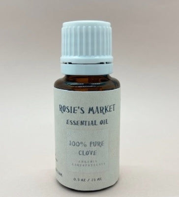 Clove Essential Oil - 100% Pure & Therapeutic Grade - Rosie's Market