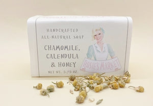 Chamomile, Calendula & Honey Soap Bar