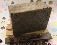 Load image into Gallery viewer, Coffee Soap Bar (Exfoliating + Unscented). All Natural and Handmade