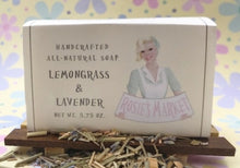 Load image into Gallery viewer, Lemongrass & Lavender Soap Bar All Natural and Handmade