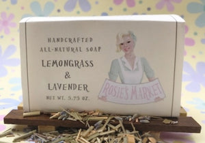 Lemongrass & Lavender Soap Bar All Natural and Handmade