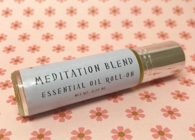 Meditation Essential Oil Roll-On - Rosie's Market