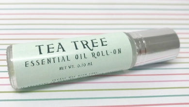 Tea Tree Essential Oil Roll-On - Rosie's Market
