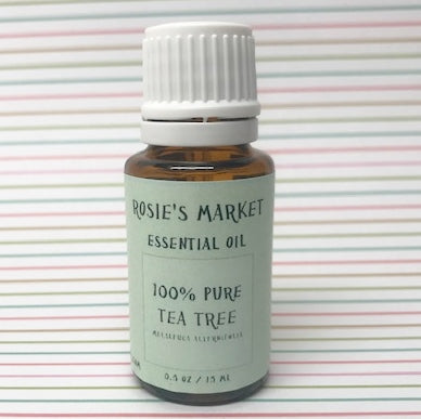 Tea Tree Essential Oil - 100% Pure & Therapeutic Grade - Rosie's Market