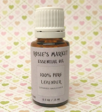 Lavender Essential Oil - 100% Pure & Therapeutic Grade - Rosie's Market