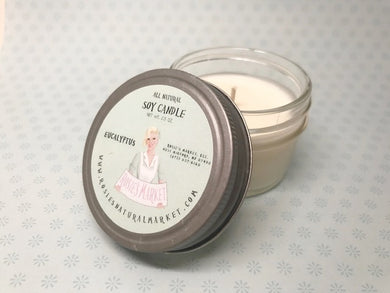 Natural Soy Eucalyptus Candle 2.5 oz.