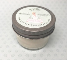 Load image into Gallery viewer, Natural Soy Eucalyptus Candle 2.5 oz.