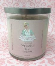 Load image into Gallery viewer, Rose Geranium Candle 8 oz.