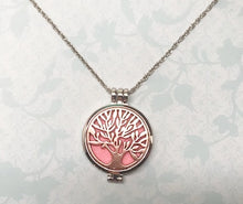 Load image into Gallery viewer, Tree of Life Aromatherapy Necklace for Essential Oils