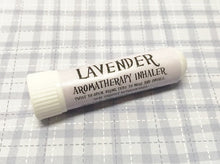 Load image into Gallery viewer, Lavender Aromatherapy Inhaler