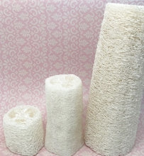 "Load image into Gallery viewer, Natural Loofah Sponge - 2"",  4"" or 6"""