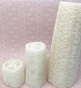 "Natural Loofah Sponge - 2"",  4"" or 6"""