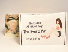 Load image into Gallery viewer, Pinup The Beatrix Bar All-Natural Handcrafted Soap Bar